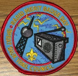 2007 Radio Merit Badge Day Patch