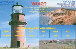 W1ACT QSL