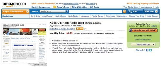 KB6NU.Com on Amazon