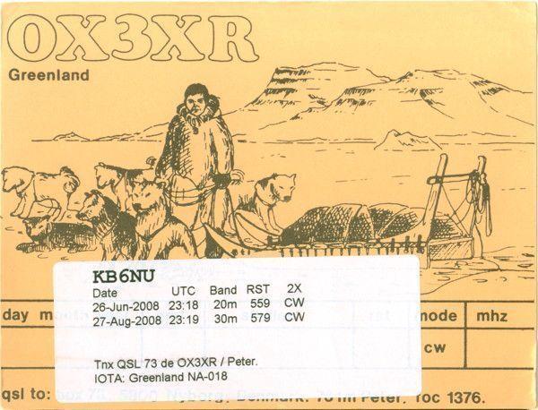 OX3XR QSL