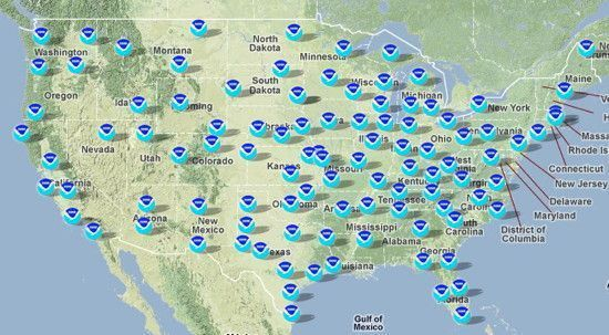 SKYWARN Stations